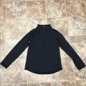 Justice Long Sleeve 1/4 Zipper Pullover LIKE NEW